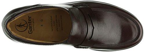 Ganter  GREG, Weite G, pantoufles homme Multicolore - Multicolore (bordeaux 4500)