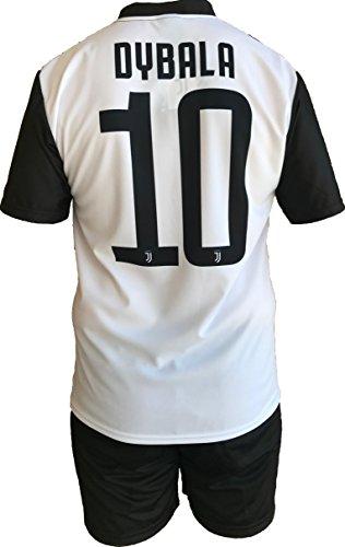 Juventus f.c. - perseo trade s.r.l. completo juventus paulo dybala 10 replica autorizzata 2018-2019 bambino (taglie-anni 2 4 6 8 10 12) adulto (s m l xl) (8 anni)