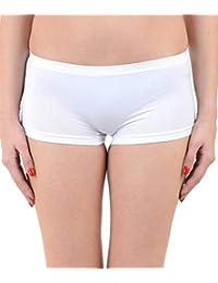 Ritu Creation Women's Synthetic Panty (RCWP0003, White, Free Size)