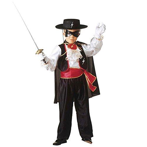 Costume vestito abito travestimento carnevale bambino eroe bandito mascherato