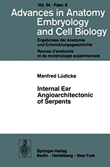 Advances in anatomy embryology and cell biology