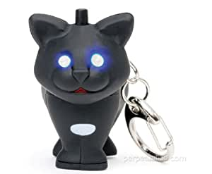 Porte Clef LED - Chat Noir