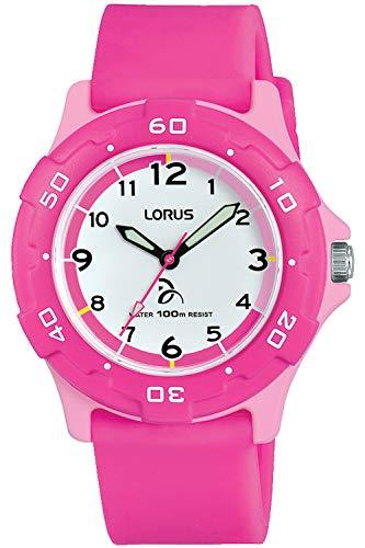 Lorus kids orologio Unisex Analogico al Al quarzo con cinturino in Silicone RRX17GX9