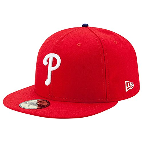 New Era Philadelphia Phillies Authentic 59FIFTY Fitted MLB Cap Game