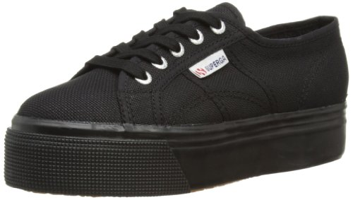 Superga Damen 2790 Acotw Linea Up and Sneakers Schwarz (996)