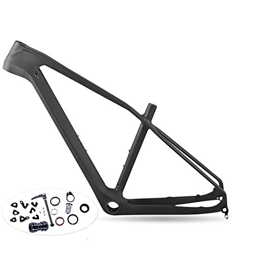 Wenhu Cuadro de Carbono Completo MTB 27.5Er Cadre Carbone T800 Cuadro de Bicicleta de montaña 27.5 Cuadro de Bicicleta súper Ligero,20udglossy