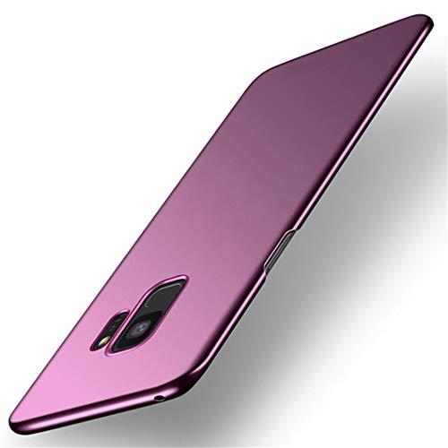 Jacyren Hülle für Samsung Galaxy S9, Galaxy S9 Plus Handyhülle Ultra Dünn Matt PC Schutzhülle Anti-Fingerabdruck Anti-Scratch Schutz Tasche Schale Hülle für Galaxy S9 Plus (S9 Plus, Lila)