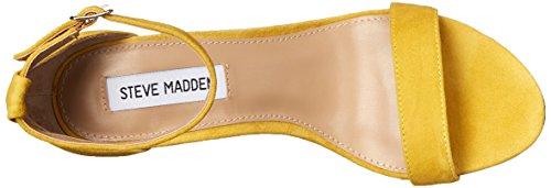 Sandalo Steve Madden tacco camoscio nero Scamosciato Giallo