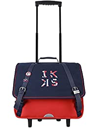 Trolley 41 Rouge IKKS Union Jack Russel