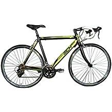 """F.lli Schiano Freccia Corsa Bicicletta 28"""", Uomo, Nero/Verde, 24 Velocità"""