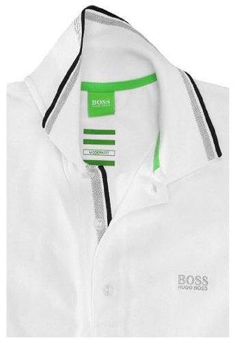 Hugo BossHerren Poloshirt Weiß - Weiß
