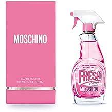 Moschino Fresh Couture Pink Rosa Eau de Toil Lete Fur Donna 100ML nuovo 2017
