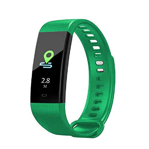 HTTXSBL Sportuhr Fitness Tracker Herzfrequenzerkennung Farbdisplay Bewegung Echtzeitüberwachung IP67 wasserdicht vert