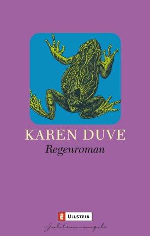 Buchseite und Rezensionen zu 'Regenroman' von Karen Duve