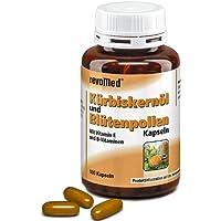 revoMed Kürbiskernöl Blütenpollen Kaps. 100St. preisvergleich bei billige-tabletten.eu