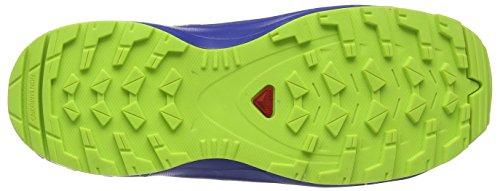 Salomon XA PRO 3D CSWP J, Scarpe Sportive Unisex Bambini, Verde (Acid Lime/Surf The Web/Tropical Green), 39 EU