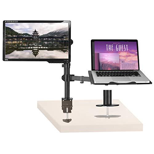 """Suptek Laptop Arm Monitor Halterung Mit Laptop Für 13\""""-27\"""" Bildschirme MD6432TP004"""