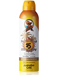Australian Gold SPF 15 Premium Coverage Spray, 10130, 1er Pack (1 x 0.177 l)