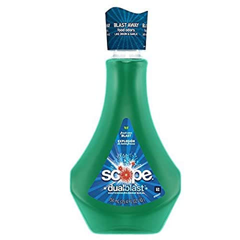 Scope DualBlast Mouthwash Fresh Mint Blast, 25.4 Fl Oz (PACK