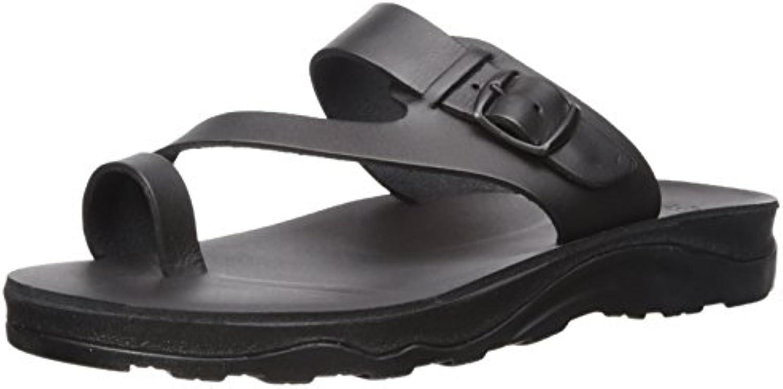 jérusalem jérusalem jérusalem sandales hommes & eacute; parents footbed diapositive sandale b075m16m5y abner moulé b15371