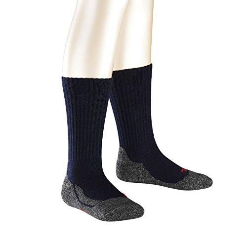 Preisvergleich Produktbild Falke Kinder Socken Active Warm 2er Pack, Größe:19-22;Farbe:Marine (6120)