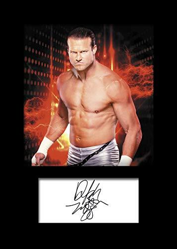 Dolph Ziggler WWE #2 | Signierter Fotodruck | A5 Größe passend für 6x8 Zoll Rahmen | Maschinenschnitt | Fotoanzeige | Geschenk Sammlerstück (Ziggler Dolph Wwe-wrestler)