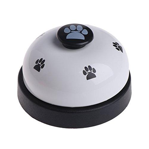 ECMQS Pet Spielzeug Training Genannt Abendessen Kleine Glocke Footprint-Ring-freies Hunde Spielzeug Für Teddy Puppy