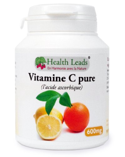 Vitamine C Pure 600mg gélules (100% sans additif)