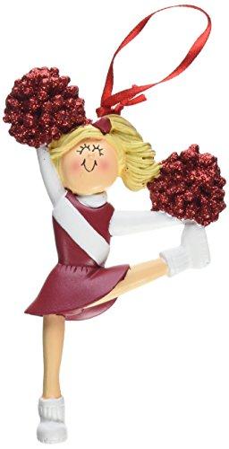 Ornament Central oc-006-r-bl rot Uniform Cheerleader Figur