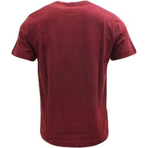 US POLO ASSN -  T-shirt - T-shirt  - Basic - Maniche corte - Uomo Oxblood