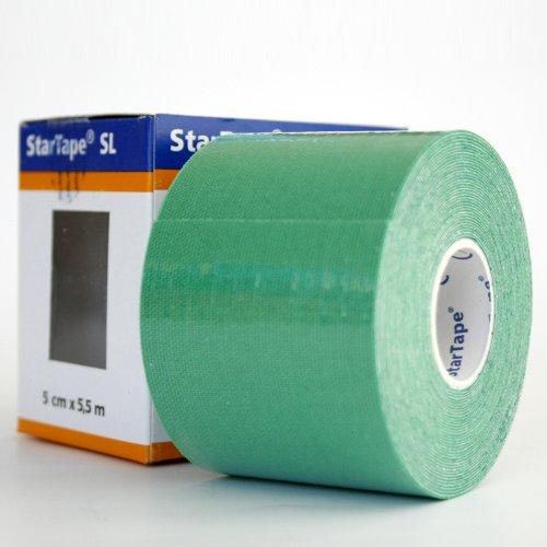 Star-Tape Kinesiologie-Tape 5,5m x 5 cm, grün -