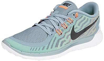 Nike Men s Free 5.0 Running Shoe Dove Grey/Black/Elctrc Grn/Vlt 13 D(M) US