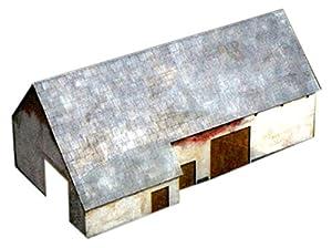 Kit de Madera Italeri 1/72 La Haye Sainte Waterloo Granero # 6175