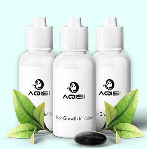 ILOVEDIY 3X Haarentfernung Repair Creme Serum AQISI Permanent Hair Growth Inhibitor (3Stück)