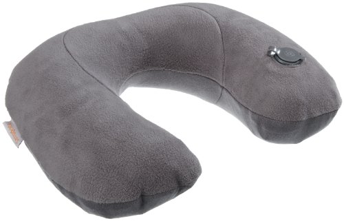 Samsonite Travel Accessor. V - Inflatable Pillow mit REM.Cover Reisekissen, Graphite