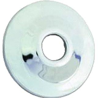 Aviditi 30701 1/2-Inch C.P. Shallow Escutcheon, Chrome, 25-Pack by Aviditi