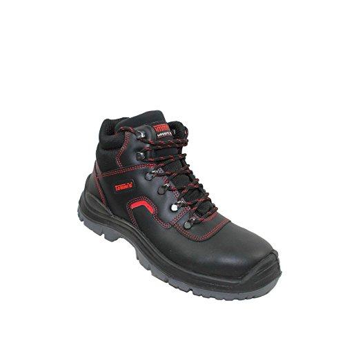 Elmshorn tommis s2 chaussures berufsschuhe businessschuhe sRC chaussures de trekking (noir) Noir - Noir