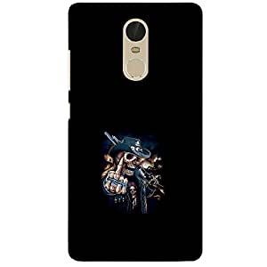 Skeleton With Man - Mobile Back Case Cover For Red Mi Pro