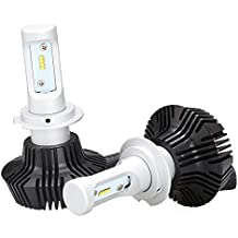 Toppower H7 LED Faro Lumileds Chip 50W 8000LM 6000 k -360° Ajustable-DC 12-24V- NO CANBUS-Rohs CE Mark