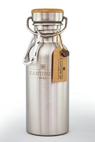 Kantine-51-Nord-Edelstahl-Trinkflasche-mit-Bambusdeckel-05-Liter-Outdoor-Design