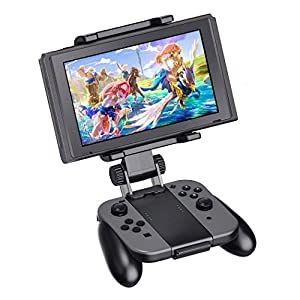 Switch Joy-Con Grip Clip Mount für Nintendo Switch, OIVO Verstellbare Clip-Halterung für Nintendo Switch / Switch Lite
