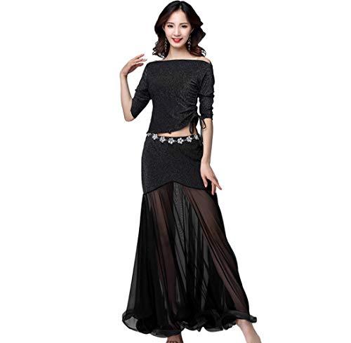 SMACO Kleider Cocktail,Bauchtanz Kostüme, Halloween & Party Kostüme Bollywood Kleider rot (Jasmin Kostüm Rot)