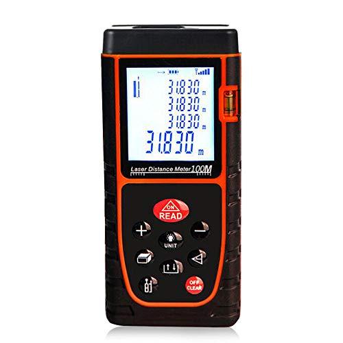 Metro di distanza del laser del tester di distanza del telemetro del laser di Digital 100m IP54 DHL