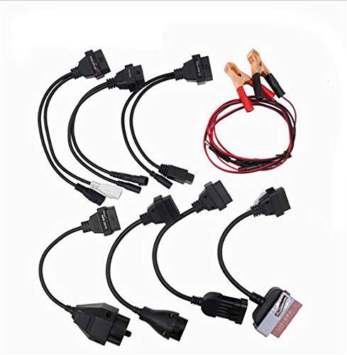 Orel_carparts OBD2 - Set di 8 Cavi adattatori diagnostici per Cavo  Adattatore per Auto e Camion AutoCom Delphi DS150e TCS CDP HD