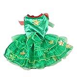 Delicacydex Weihnachtsbaumform-Katzenkostüm - Grün