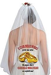 Idea Regalo - Velo sposa Club delle Nubili.