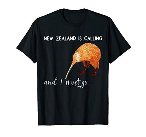 New Zealand is calling, and I must go... Neuseeland T-Shirt