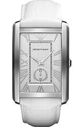 Emporio Armani Chronograph Silver Dial Mens Watch-AR1657
