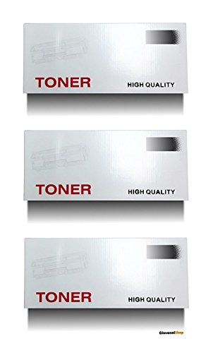 Giovanni Shop Sardegna TN1050 TN-1050 Kit 3 Toner compatibili per Brother
