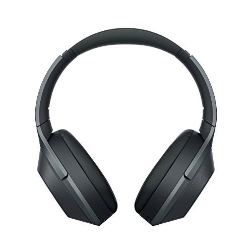 Sony WH-1000XM2 Wireless Over-Ear Noise Cancelling High Resolution Headphones with Gesture Control, Activity Recognition, 30 Hours Battery Life - Black